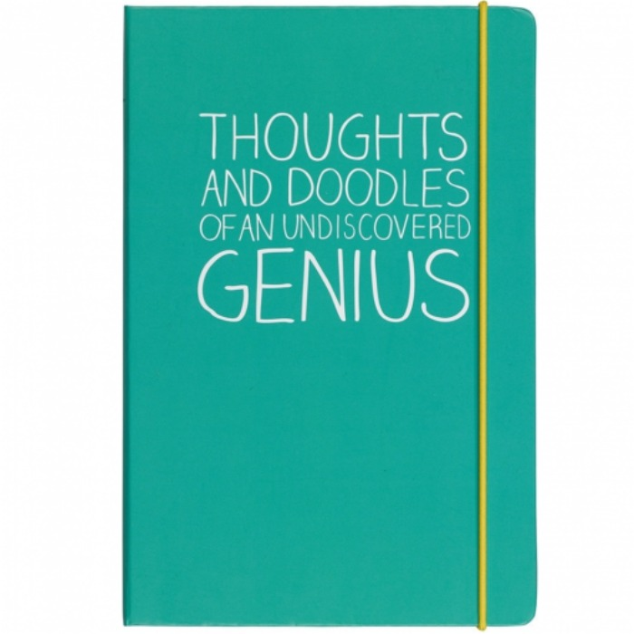 10 Unique Christmas Gifts for 2015 - HAPPY JACKSON A5 THOUGHTS AND DOODLES NOTEBOOK