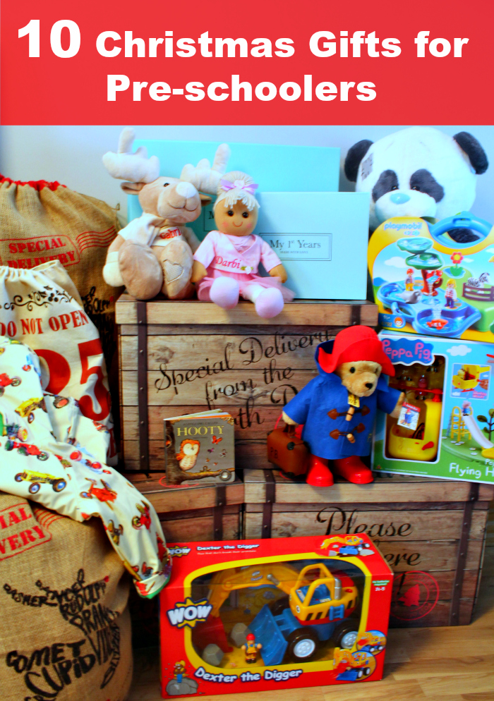 Christmas Gift Guide For Pre-Schoolers 2015