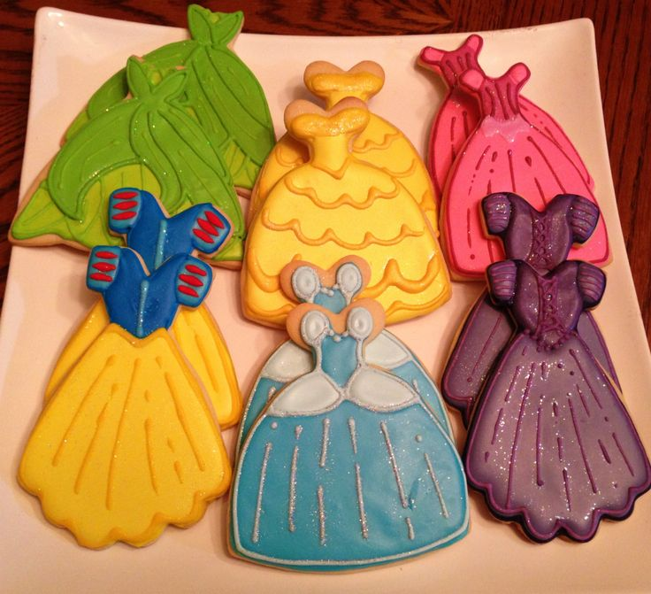 12 Disney Princess Sugar Cookies
