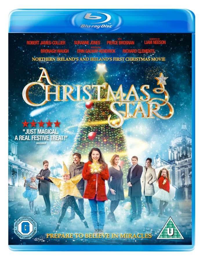 A Christmas Star The Movie Blu-ray Disc Cover