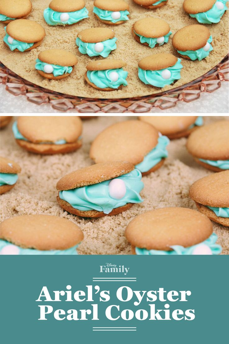 Ariel's Oyster Pearl Cookies