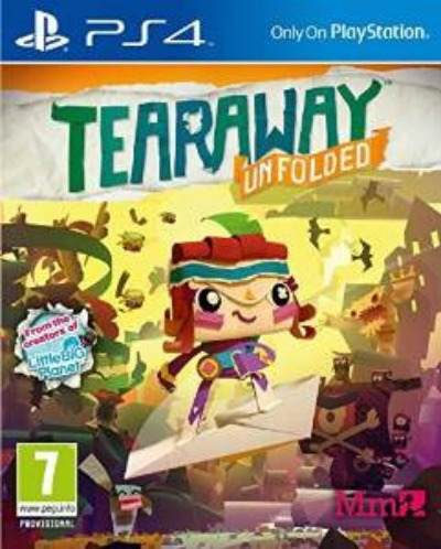 Christmas Gift Guide 2015 - Gamers Edition Tearaway Unfolded PS4