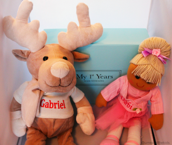 Christmas Gift Guide for Preschooler 2015 My 1st Years Allecia Ballerina and Reindeer toy