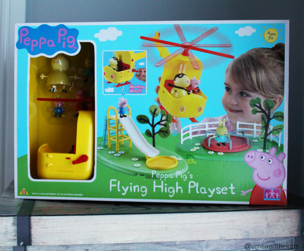 Christmas Gift Guide for Preschoolers 2015 Peppa Pig Flying High Playset