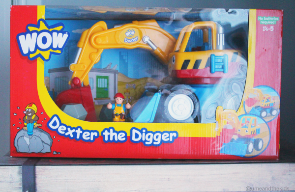 Christmas Gift Guide for Preschoolers 2015 Dexter the Digger