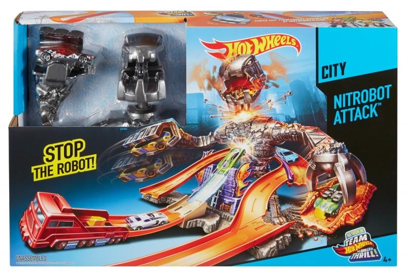 Christmas Gifts for Kids 2015 - hot-wheels nitro bot attack