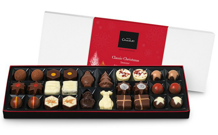 Christmas Gifts for Her 2015 Hotel Chocolat- The Classic Christmas Sleekster