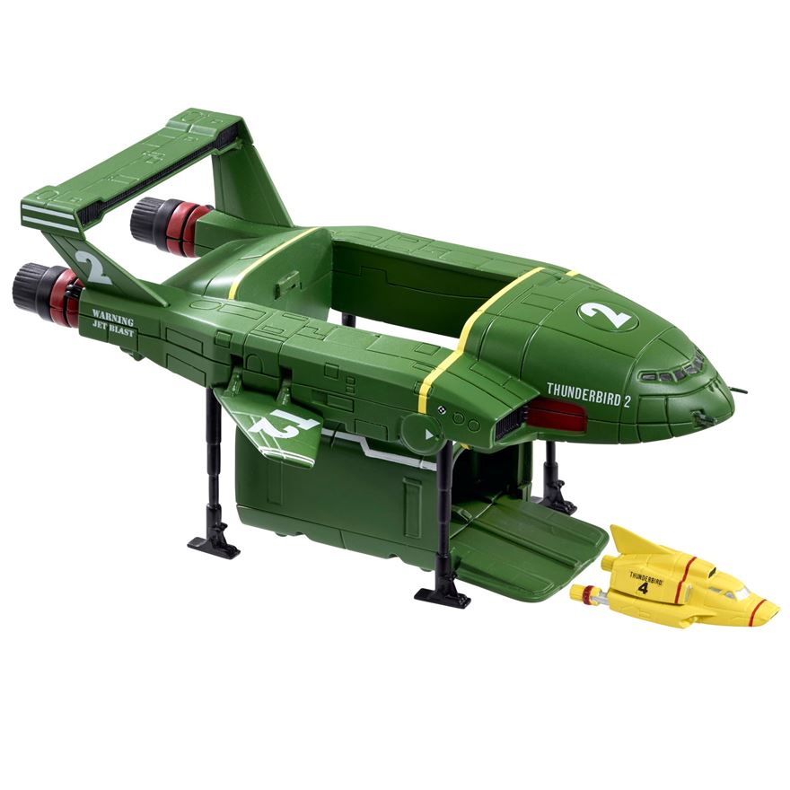 Christmas Gifts for kids 2015 Thunderbird 2 with Mini Thunderbird 4