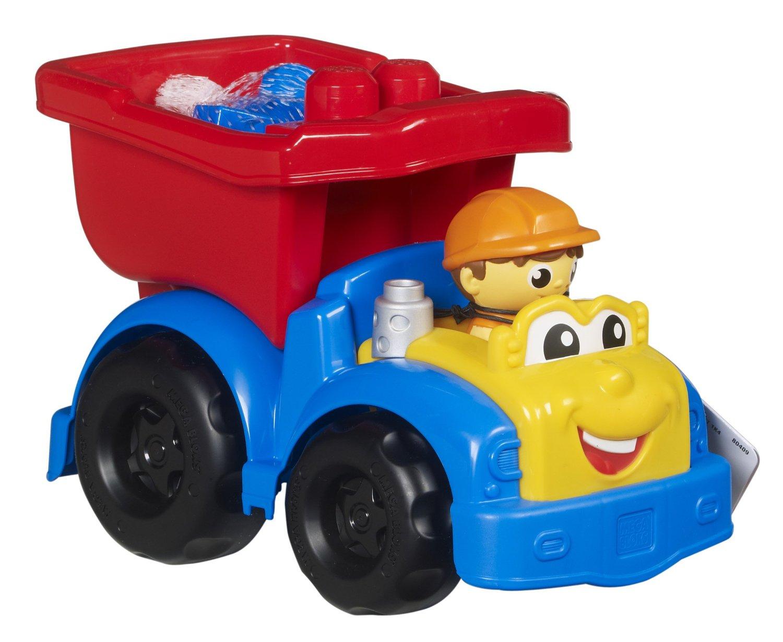 Christmas gift guide for preschoolers 2015 Mega Bloks Dylan Dump Truck