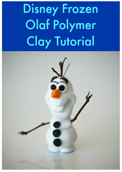 DIY Frozen Christmas Decoration Olaf Polymer Clay Tutorial