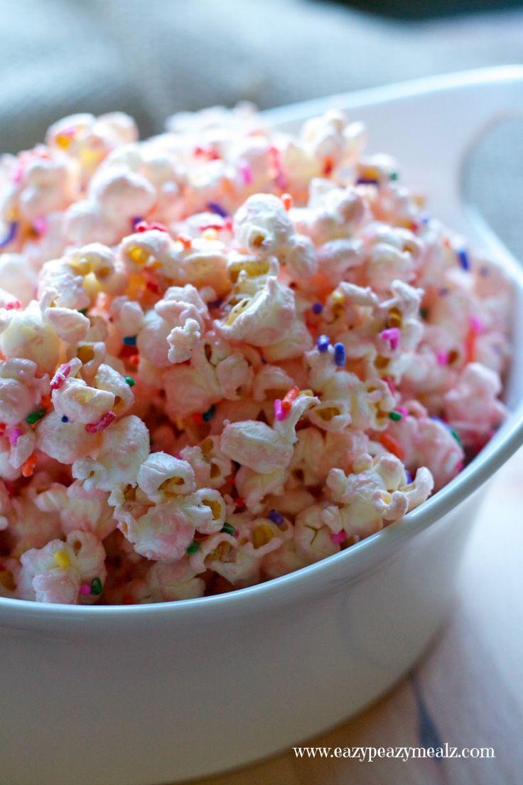 Disney Princess Homemade Popcorn