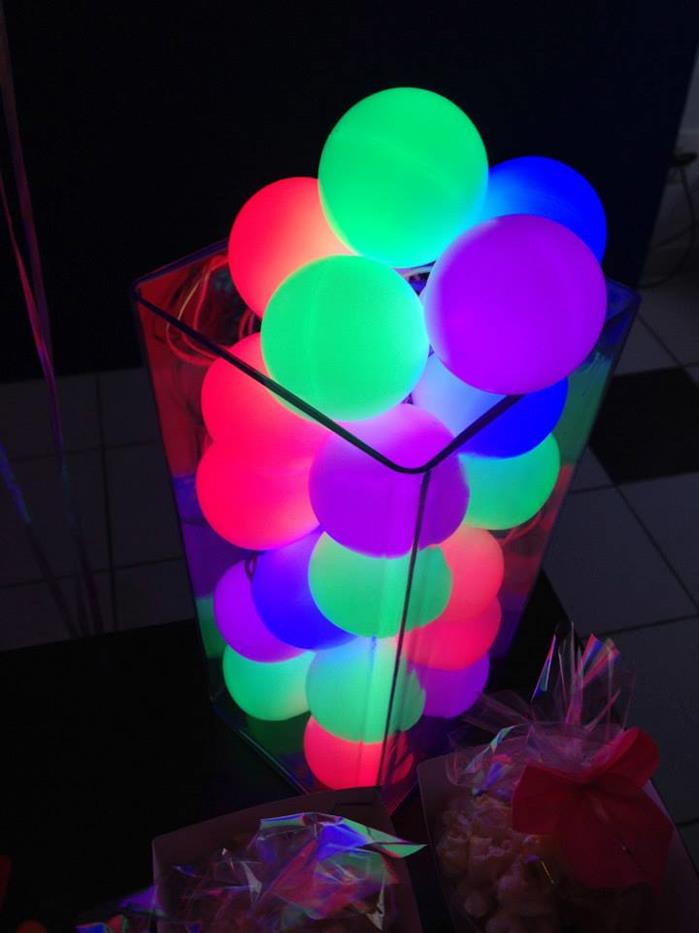 Neon Party Lights Via Kara S Party Ideas