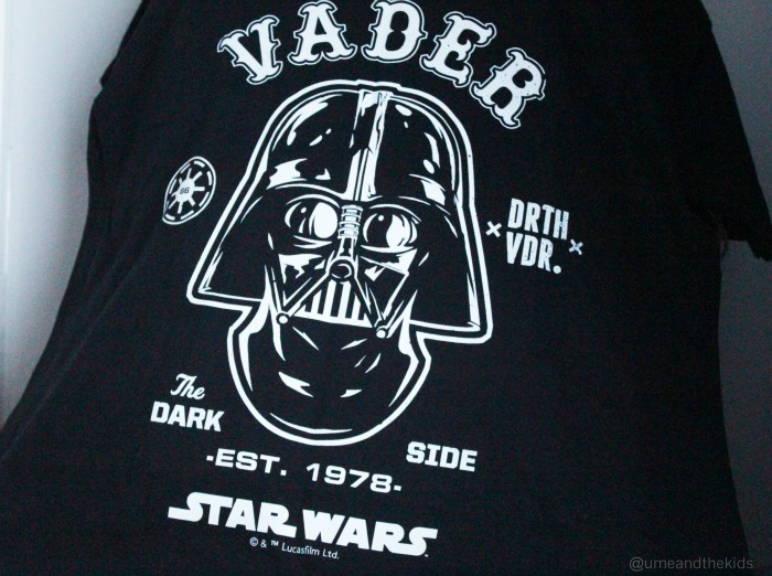 Christmas Gifts for Him 2015 Star Wars Vader Personalised T-shirt
