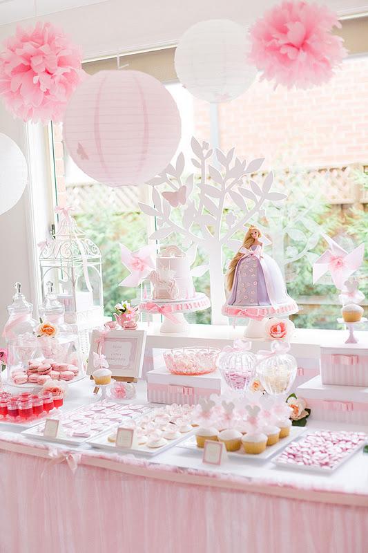 Tangled Garden Party Idea