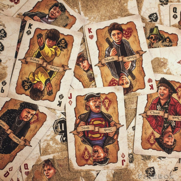 10 Unique Christmas Gifts for 2015 - The Goonies Playing cards