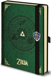 Christmas Gift Guide 2015 - Gamers Edition - The Legend of Zelda Notebook