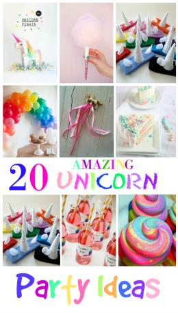 20 Amazing Unicorn Birthday Party Ideas