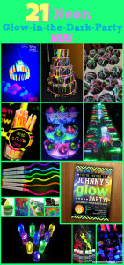 21 Neon Glow in the Dark Party Ideas for kids