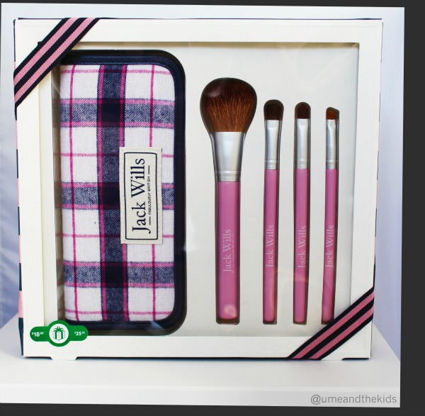 Christmas Beauty Gift Sets 2015 - Jack Wills Make-up brush set