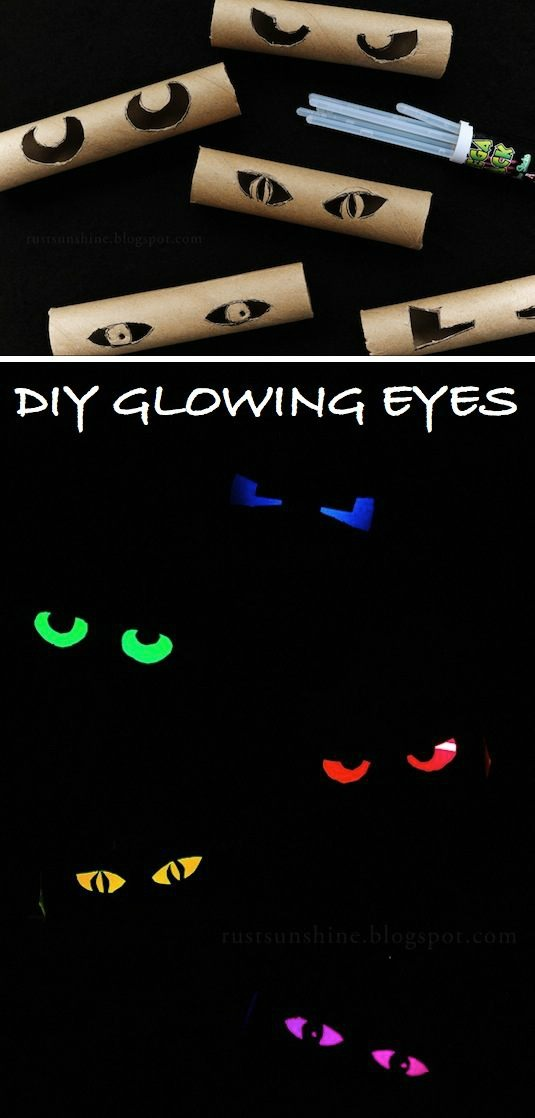 DIY Glowing Eyes