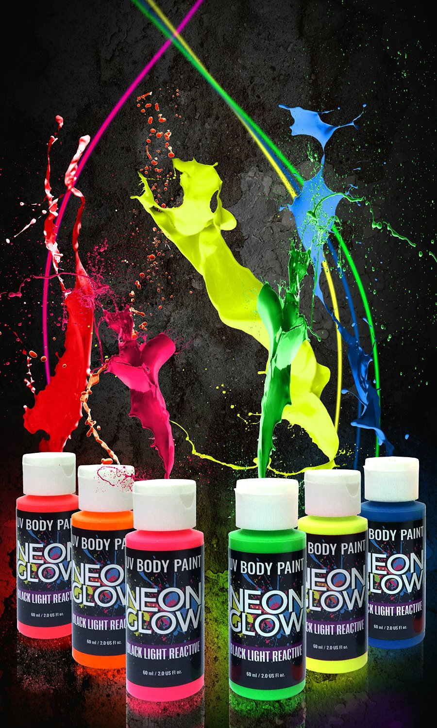 Neon Glow in the dark paint