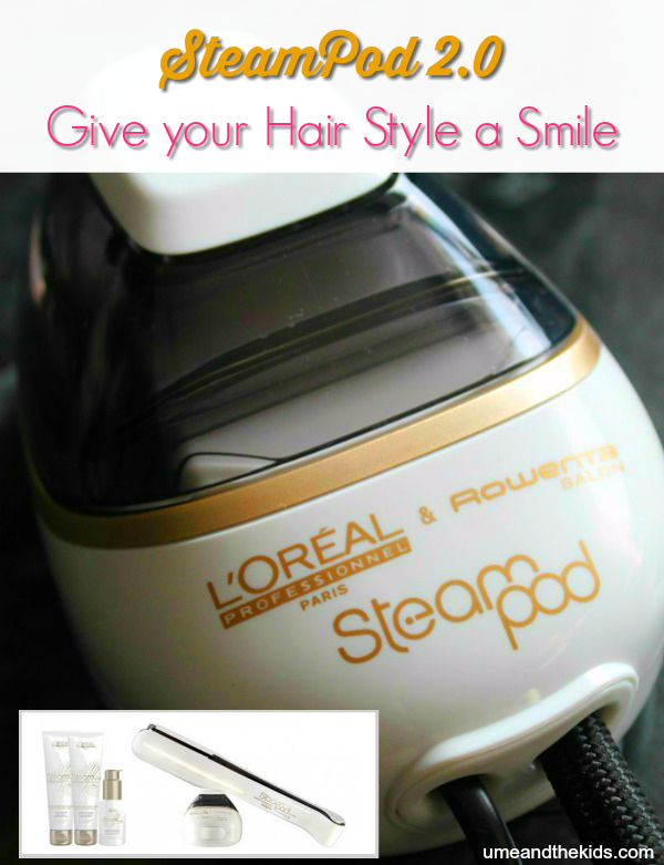 l 39 oreal steampod 2 0 review total hair control with ease. Black Bedroom Furniture Sets. Home Design Ideas