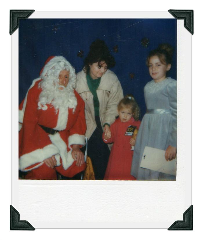 Visiting Santa #RidleysRetroXmas