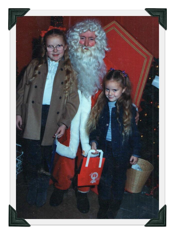 Visiting Santa again #RidleysRetroXmas