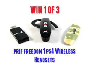 Prif Freedom 1 Ps4 Wireless Headset Review + Win 1 of 3