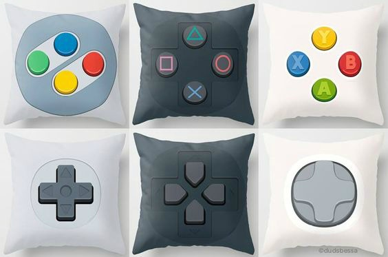 Video Game Room Ideas Games Room cushions