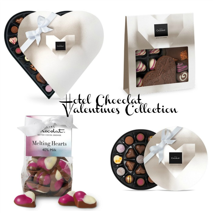 Win Valentine Chocolate Gifts from Hotel Chocolat with a Sleekster Gift Box worth £22.00 - Hotel Chocolat Valentines Chocolates Collage