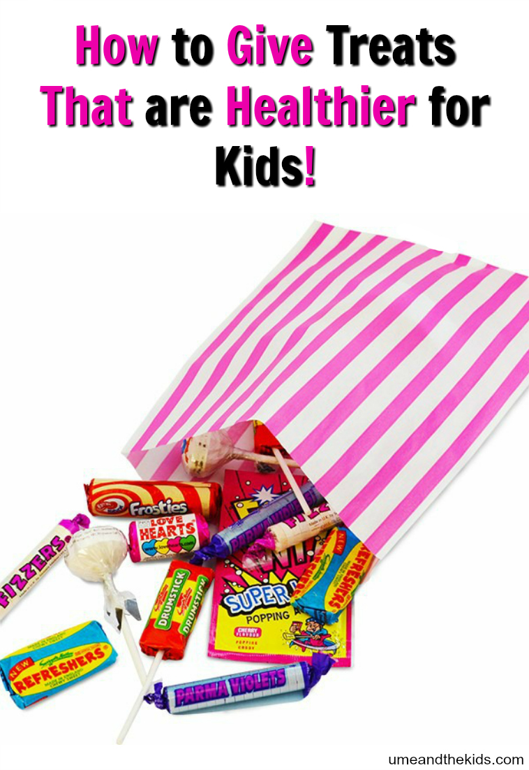 How to Give Treats The are Healthier for Kids