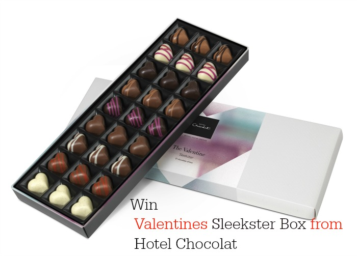 Win Valentine Chocolate Gifts from Hotel Chocolat with a Sleekster Gift Box worth £22.00 - Sleekster box