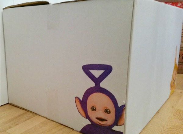 teletubbies Parcel Tinky Winky