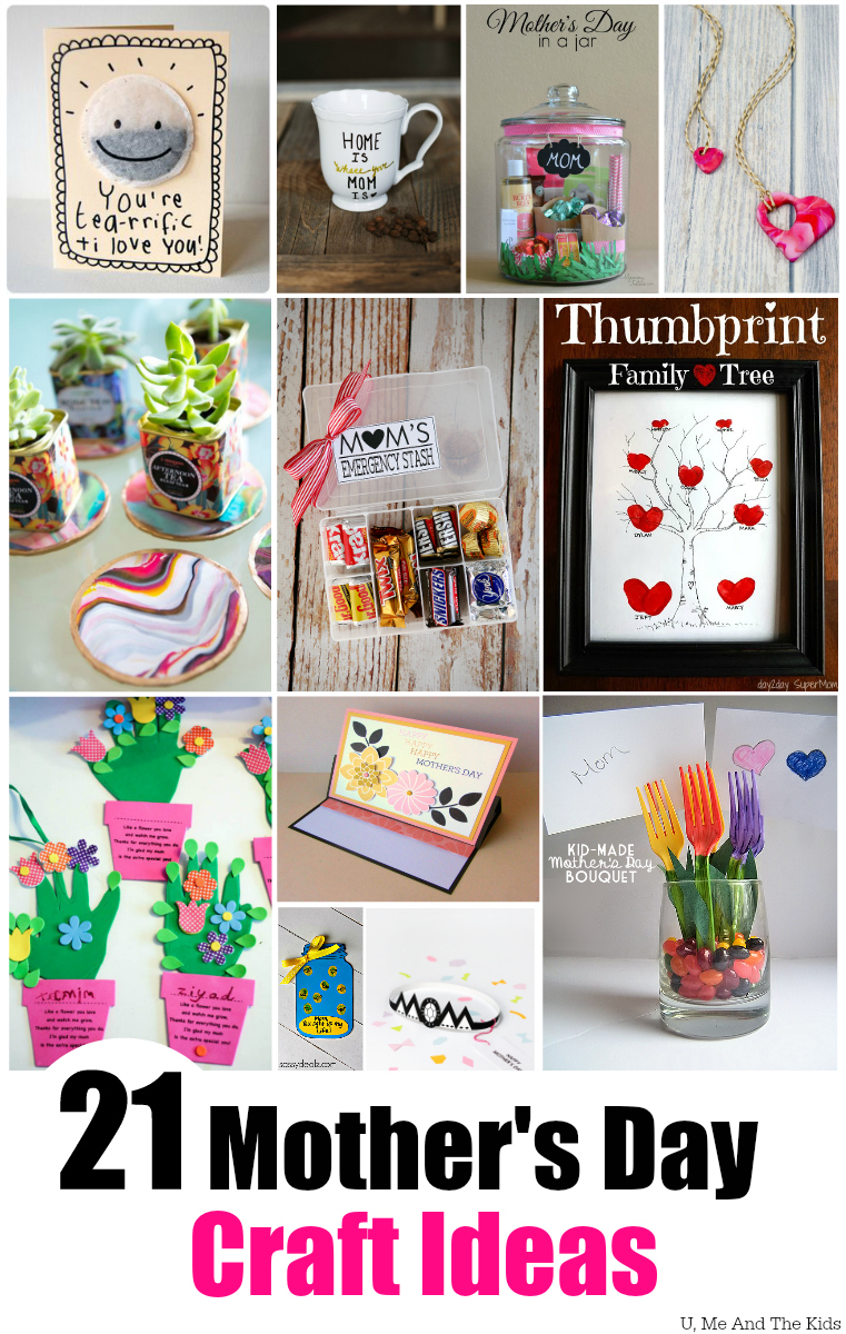 21 Awesome Mothers Day Craft Ideas