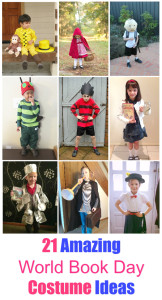 21 Awesome World Book Day Costume Ideas for Kids
