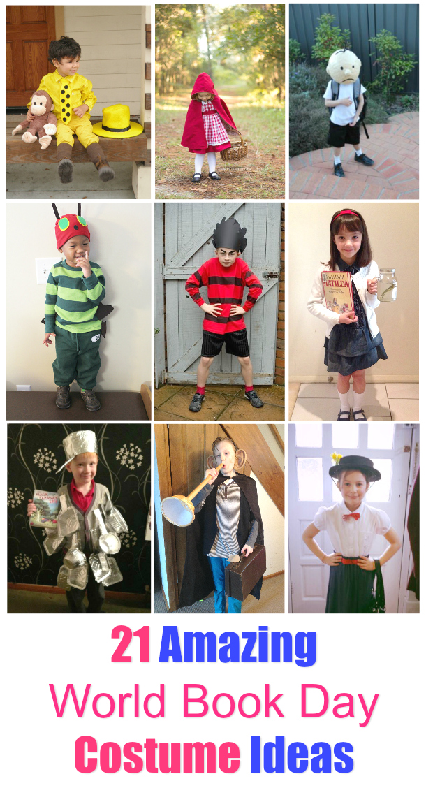 21-world-book-day-costume-ideas : costume day ideas  - Germanpascual.Com
