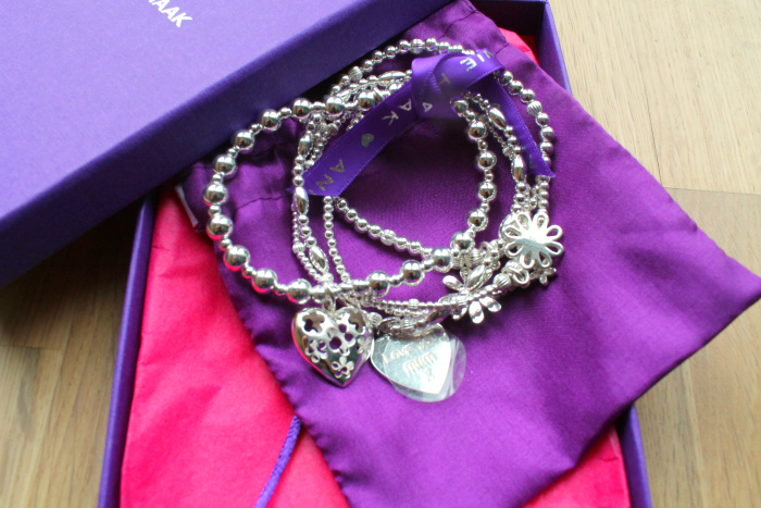 Perfect Gifts for Mother's Day - ANNIE HAAK - A Bunch of Flowers Silver Charm Bracelet