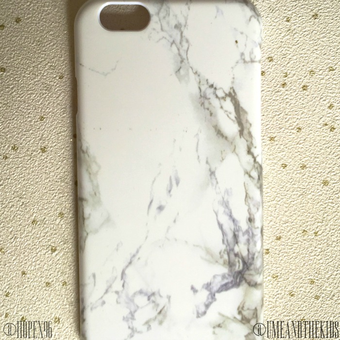 Coconut Lane Review & Discount Code - Marble Phone Case