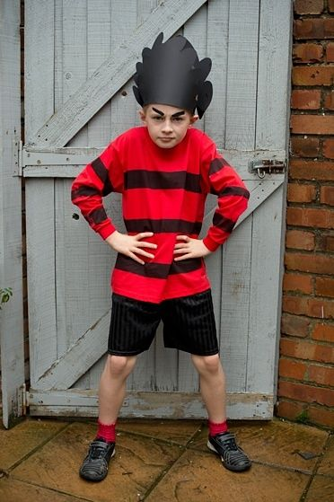 Dennis the Menace costume idea
