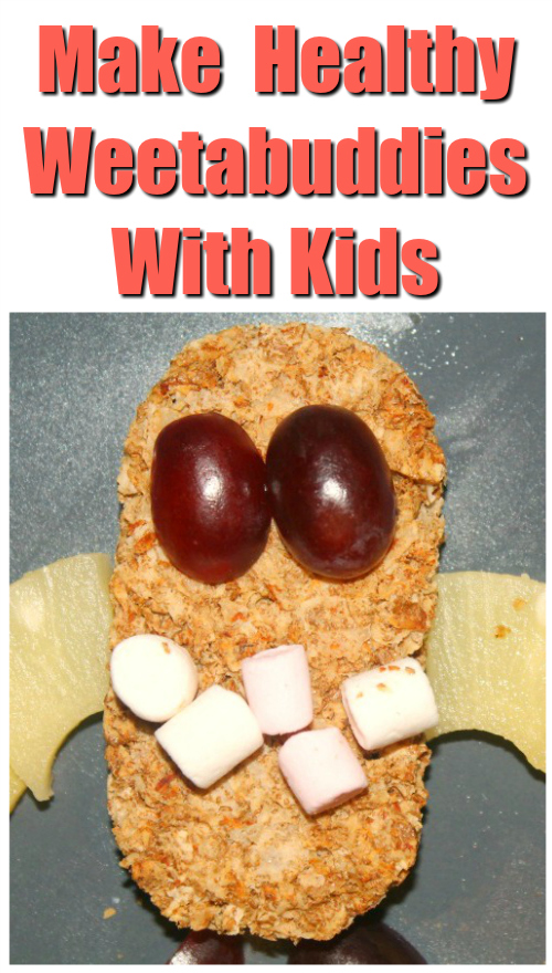 Make Healthy Weetabuddies with kids