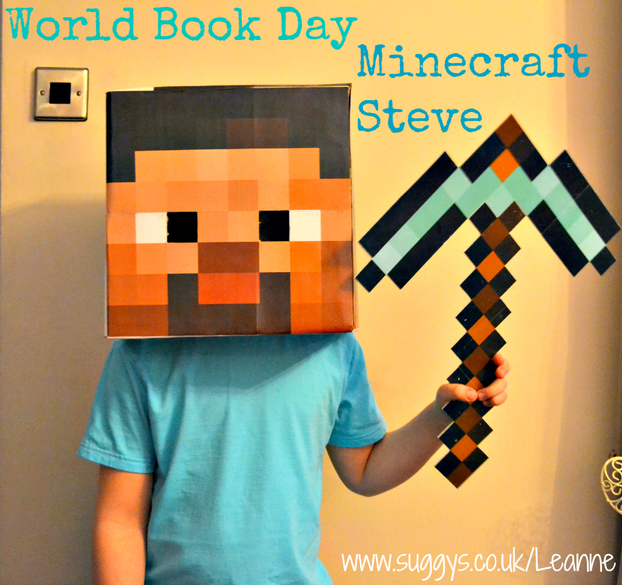 Minecraft Steve Costume Idea