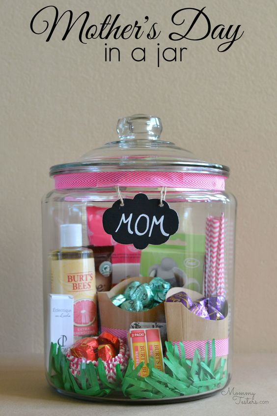 Mothers Day Craft Ideas - Mothers Day In a Jar