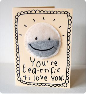 Mothers Day Craft Ideas - You're tearific I love you diy card