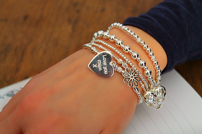Perfect Gifts for Mother's Day - Wearing the ANNIE HAAK - A Bunch of Flowers Silver Charm Bracelet