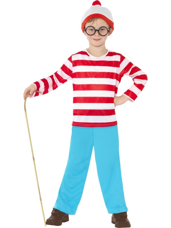 Wheres Wally Costume Idea