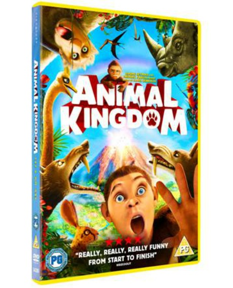 Win ANIMAL KINGDOM: LET'S GO APE DVD'S - Animal Kingdom dvd cover