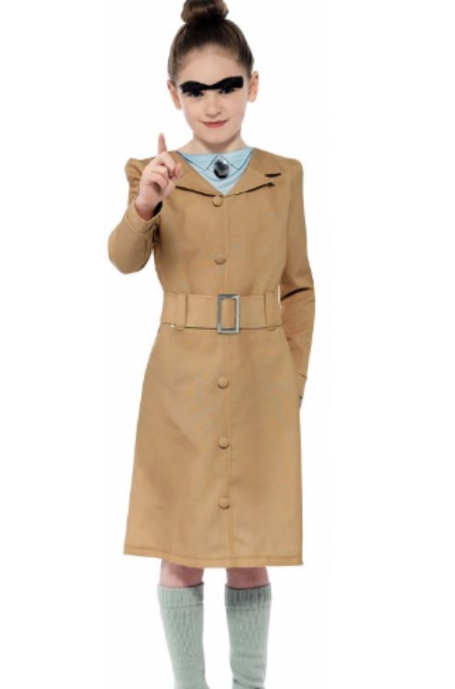 World Book Day Costume Ideas for Kids - Roald Dahl Miss Trunchbull