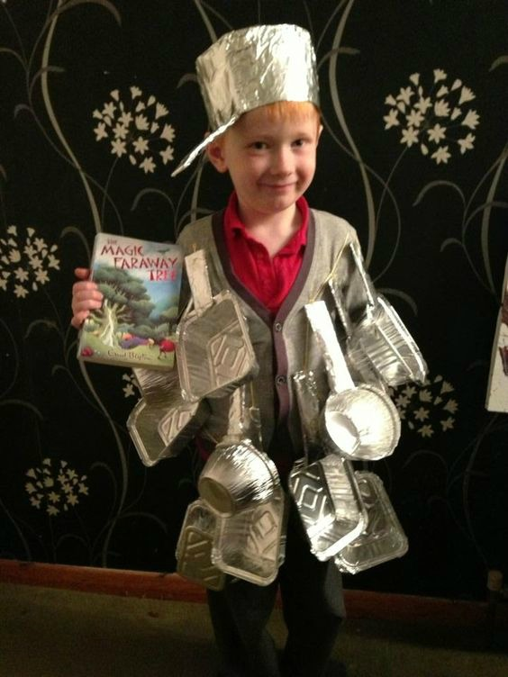 World Book Day Costume Ideas for Kids - Saucepan Man from the Magic faraway tree  sc 1 st  U me and the kids : ideas for book day costumes  - Germanpascual.Com