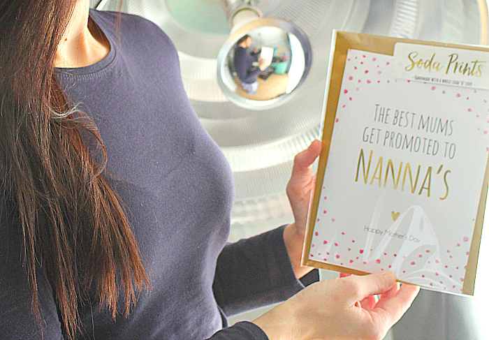 Perfect Gifts for Mother's Day -soda personalised prints the best mums get promoted to nannas